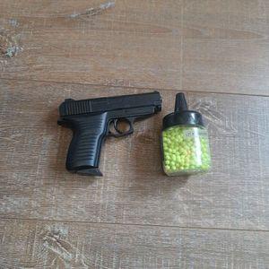 Pistolet en plastique