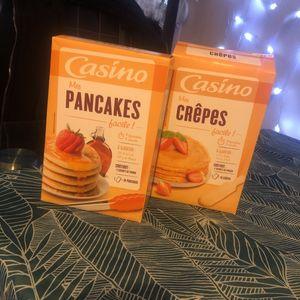Pâte à pancakes et crêpes