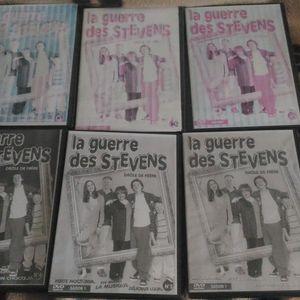 6 dvd enregistrer la guerre des Stevens