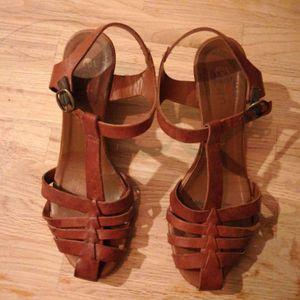 Sandales en cuir Eram