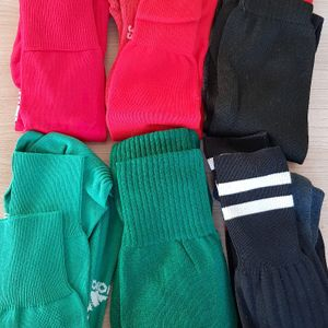 Lot de 6 paires de chaussettes de football, pointure 39-42