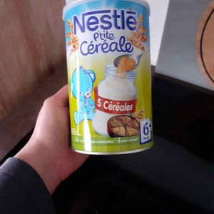 Nestlé p'tite céréale 6 mois