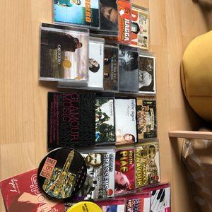 Lot de CD et single