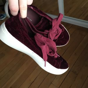 Chaussures bordeaux taille 38