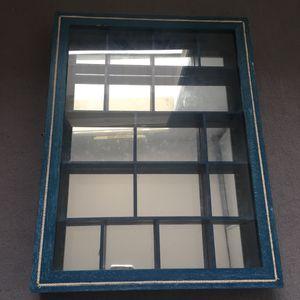 Petite vitrine murale