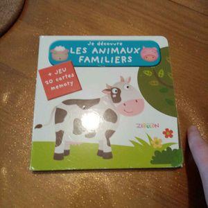Livre sur les animaux familier