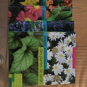 4 grands dictionnaires sur les plantes