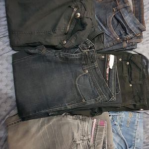 6 Jeans femme taille 36