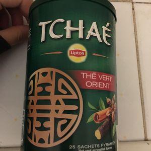 Boîte à thé «TCHAE» avec 3 sachets