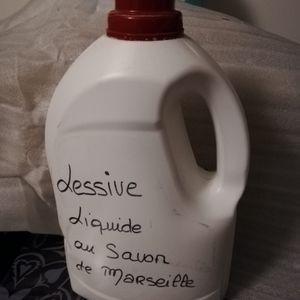 Lessive maison au savon de marseille