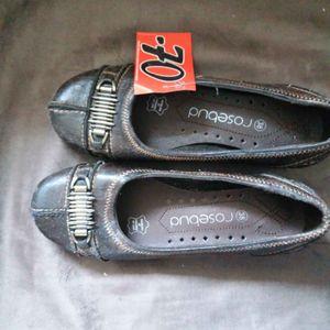chaussures ballerine 38 marron neuves