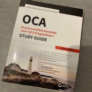 Livre Java 8 certification OCA