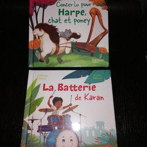 2 livre enfant neuf