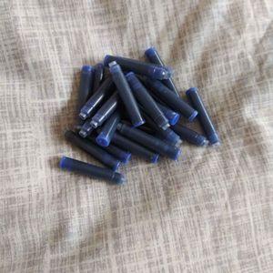 Cartouches bleues stylo à encore
