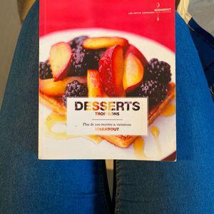 Livres de recettes dessert