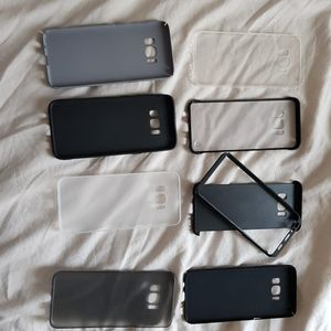 Lot coques Galaxy S8