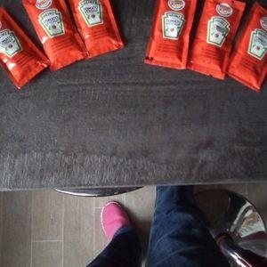Lot de ketchup