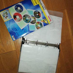 Classeur POUR pochettes de rangement pour CD et DVD