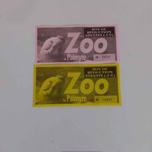 Coupon réduction  zoo Palmyre