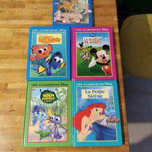 5 livre Disney