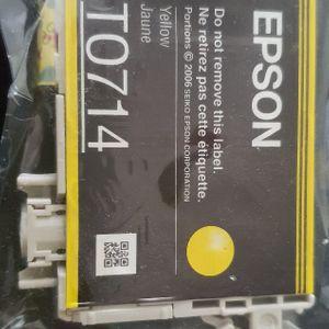 Cartouche Epson jaune T0714