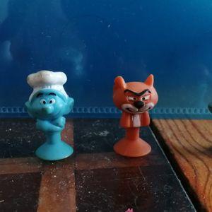 Minie figurine schtroumpfs