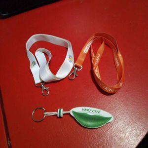 Tour de cou porte-clé ou badge