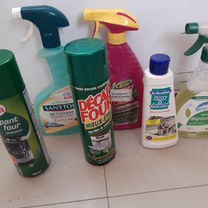 lot de produits  d entretien pour la maison