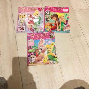 3 magazines de fée clochette