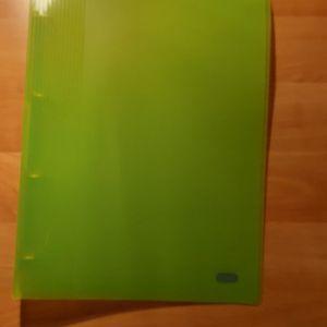 Classeur vert