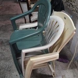 chaises jardins