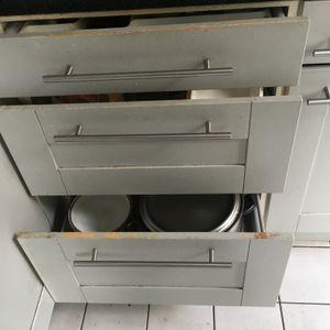 Meubles de cuisine hotte lave vaisselle évier robi