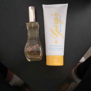 Parfum + lotion pour le corps