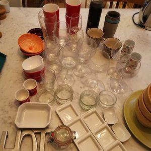 Lot de vaisselle