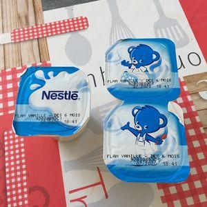 3 flans Nestle