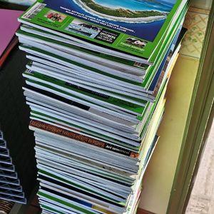Une centaine de magazine Géo !