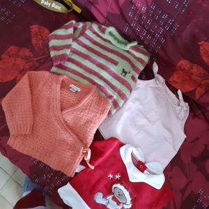 Lot de vêtement Fille 6 mois à 1 ans