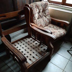 Structure de fauteuils en bois