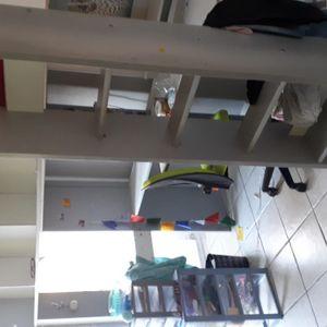 Lit mezzanine enfant 1 place
