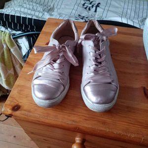 Chaussure rose pâle Only portée