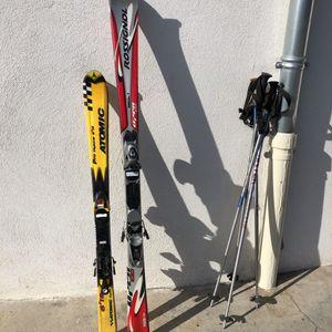 Paires de ski