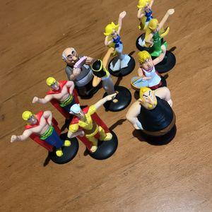 Figurines d'Astérix et Obelix