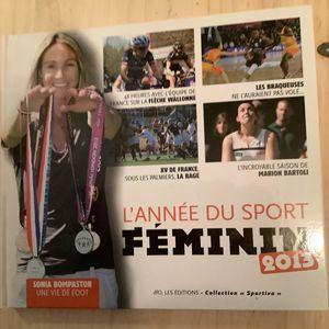 Livre l'année du sport féminin 2013