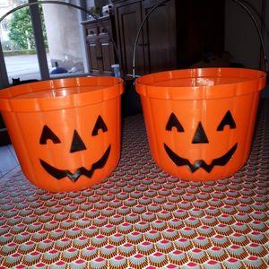 Seaux Halloween