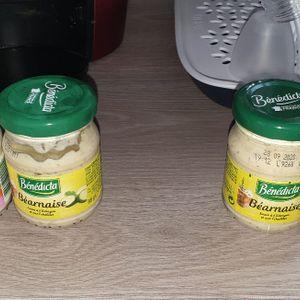 sauces béarnaise et aïoli