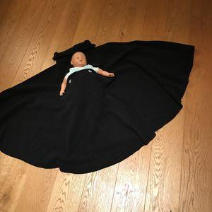 Poncho pour maman portant son bébé contre soi