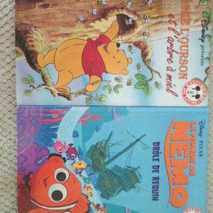 Lot 2 livres Disney
