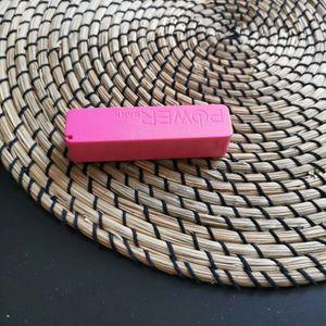 Batterie externe rose