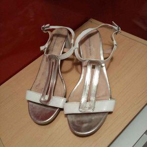 Sandalettes à talon taille 38
