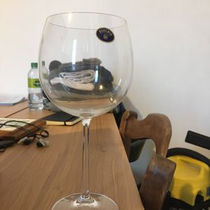 6 verres à vin